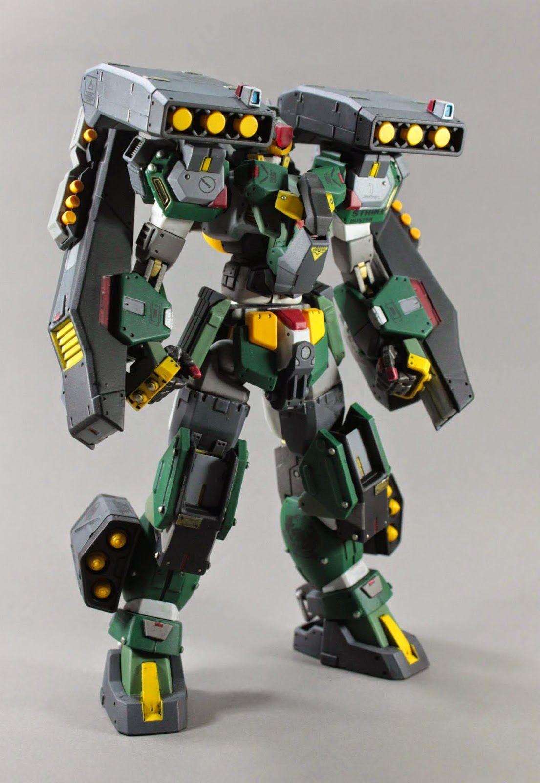 GNG-0001 Strike Buster (Heavy Type) + GN Striker - Custom ...
