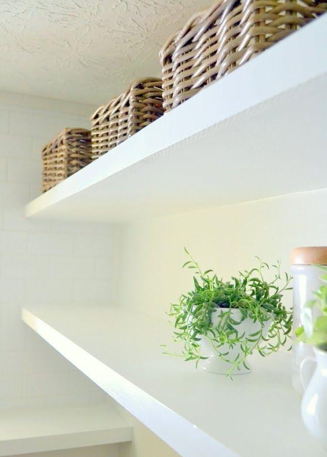 Finally! How to Create Long, Deep Shelves that Aren\u0027t Bulky