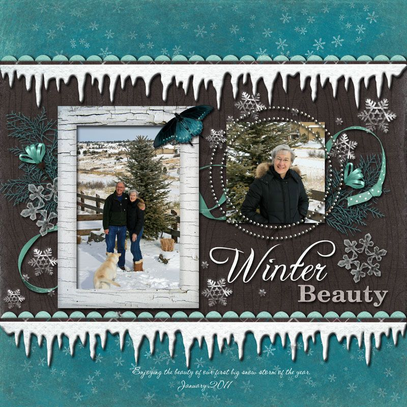 ideas for scrapbookers a winter icicle template for those frosty