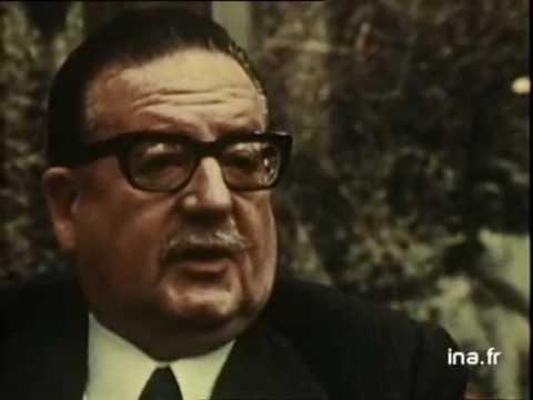 Allende y su intención de retirarse si era necesario (1973)Documental frances Antes y despues del Golpe de Estado no emitidos en TV
