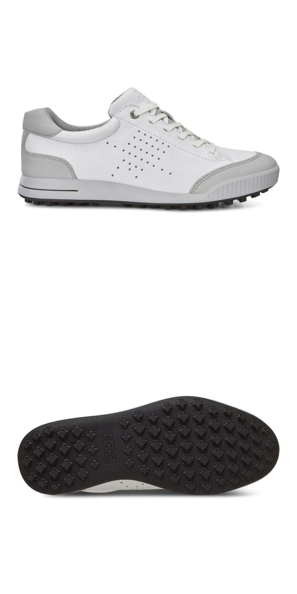 Other Golf Clothing 158939: New Men S Ecco Golf Street Retro 150604 54322  White Concrete