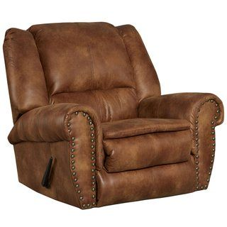Brown Faux Leather Motion Recliner (Espresso Brown), Lancaster Home Contemporary Brown Faux Leather Motion Recliner (Almond Brown), Brown Brown, Lancaster HomeContemporary Brown Faux Leather Motion Recliner (Almond Brown), Brown Brown, Lancaster Home