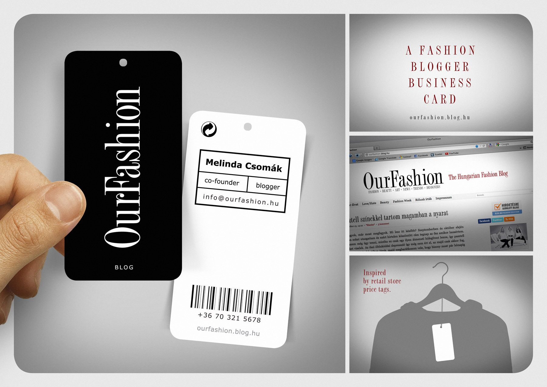 OurFashionBlog - business card | Creative | Pinterest | Business cards