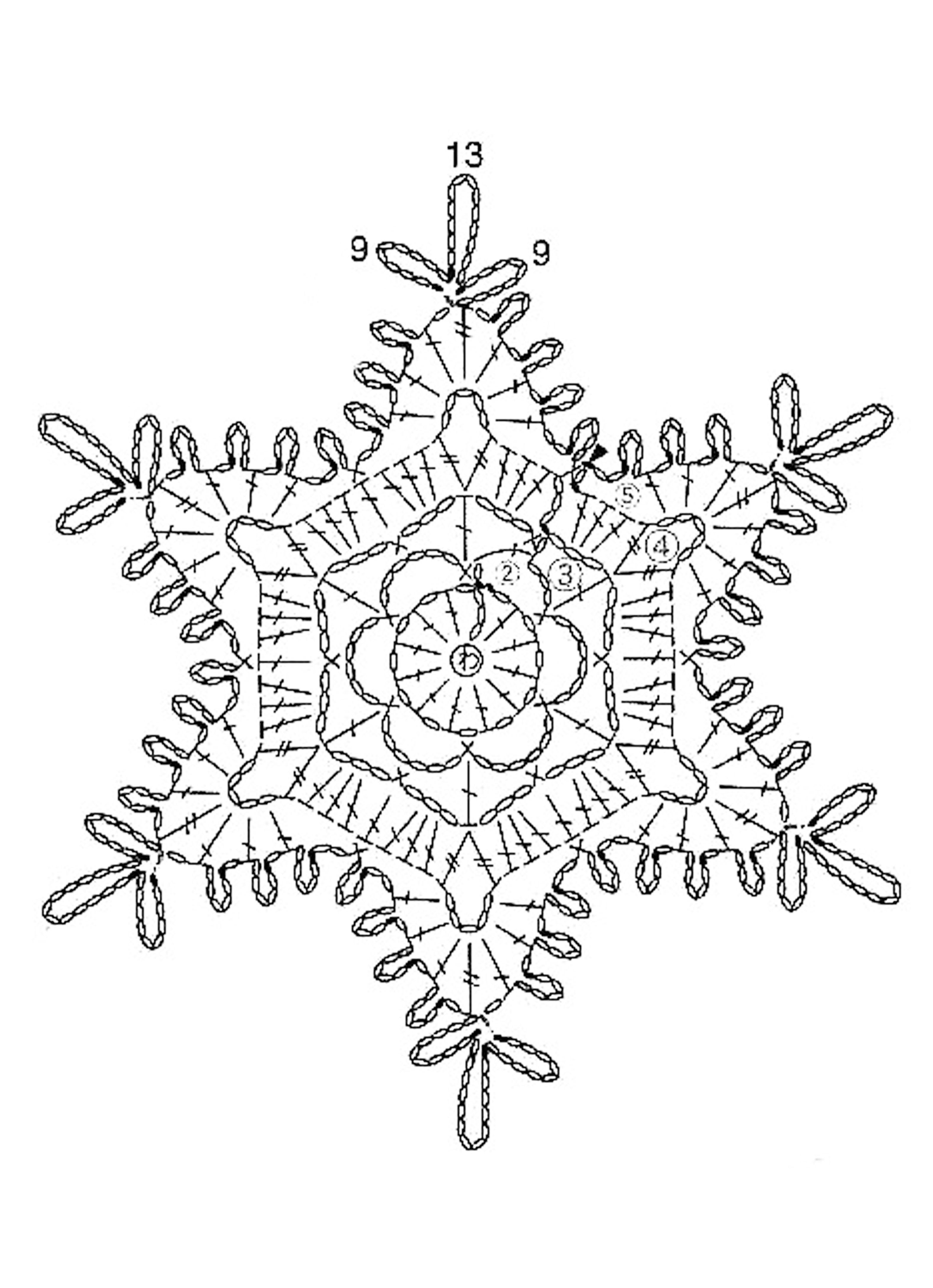 Flocon 002 | Hooking for the Holidays | Pinterest | Schneeflocken ...