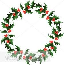Christmas wreath cartoon. Decorations google search holidays