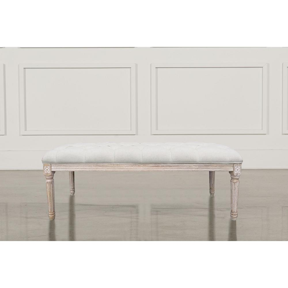 Regal Vintage French Upholstered Fabric Bench Home Accents Alliance Christie S Xl Beige French Bench