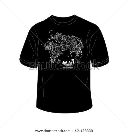 T shirt design with world map point vector illustration abstract t shirt design with world map point vector illustration gumiabroncs Images