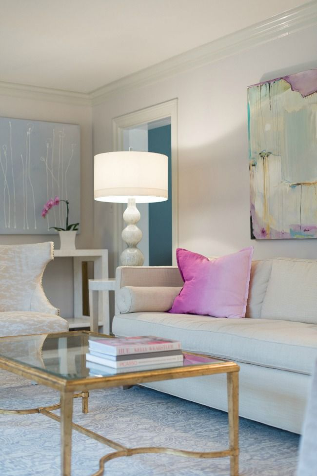 A soothing palette beautiful living room colors