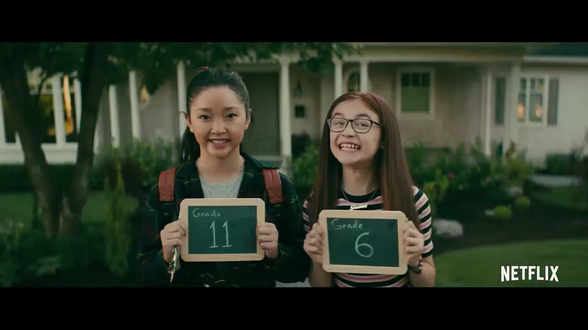 Candid Hd First Day Of School to all the boys i've loved before movie: lara jean and kitty