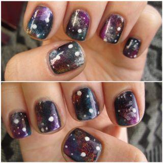 Galaxy/Nebula Nails