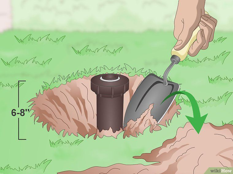 Repair A Pop Up Sprinkler Head Sprinkler Heads Pop Up