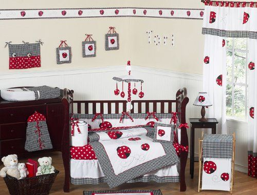 Ladybugs If I Had A Little Girl I Would Of Done Her Room In This