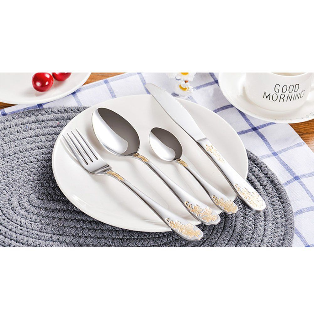 Silverware Setflatware Cutlery Set For