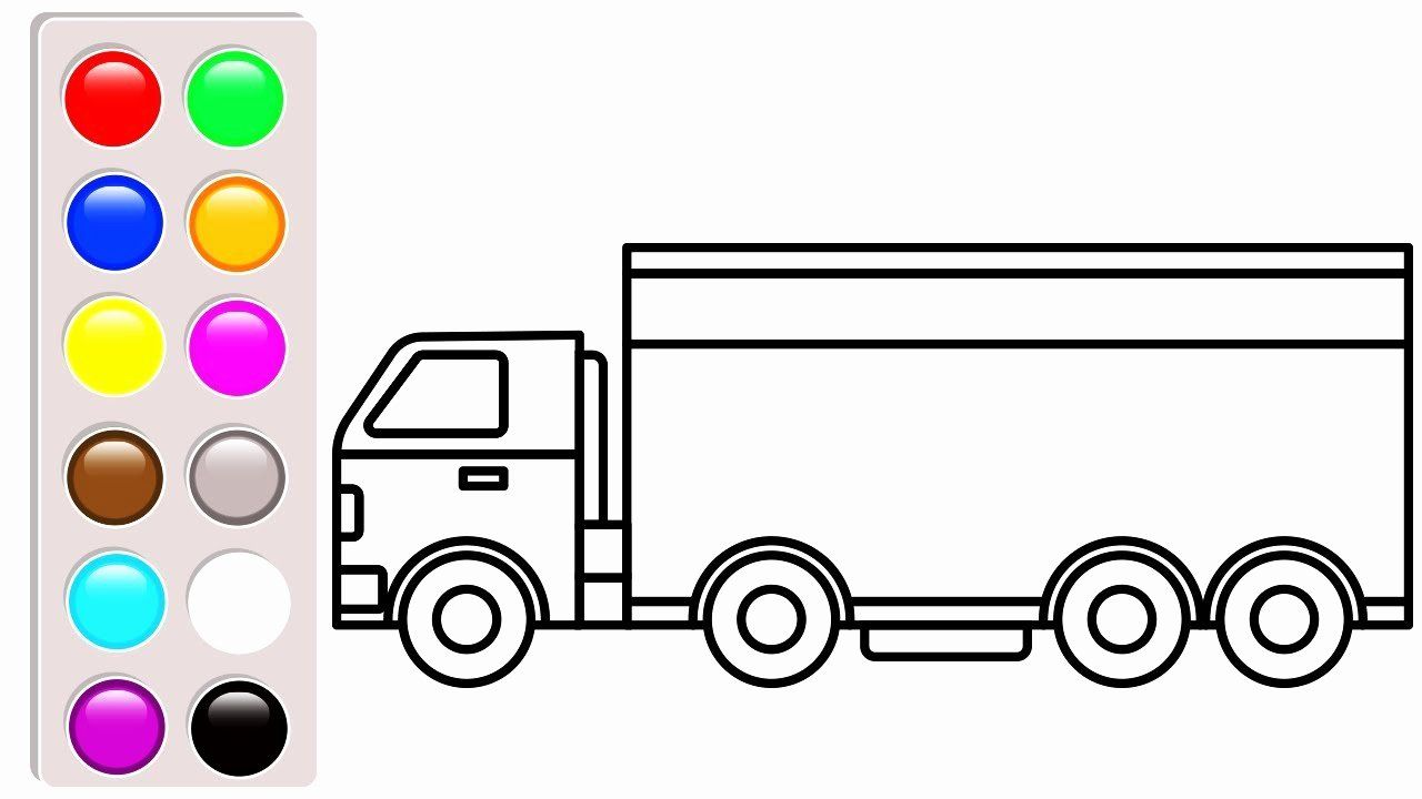 Dump Trucks Coloring Pages Unique Delighted Trucks Colouring Pages Delivery Truck Coloring Car Truck Coloring Pages Coloring Pages Cars Coloring Pages