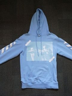 621deff33 Off-White Baby Blue Caravaggio Hoodie