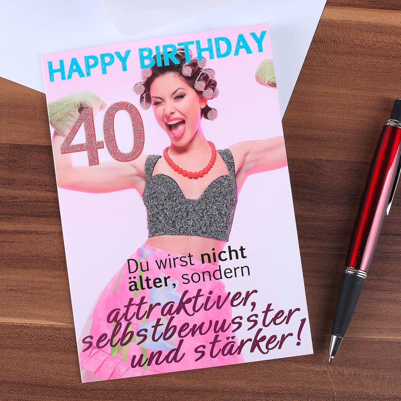 Geburtstagswünsche Für Frauen Mit 40 Lovely Komma³