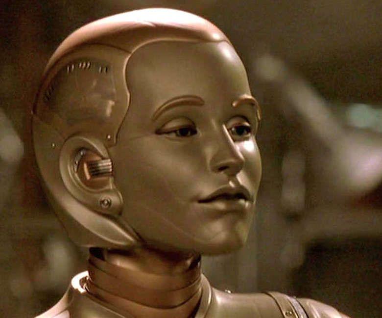 Galatea - closeup | Bicentennial man, Robot, Fantasy makeup