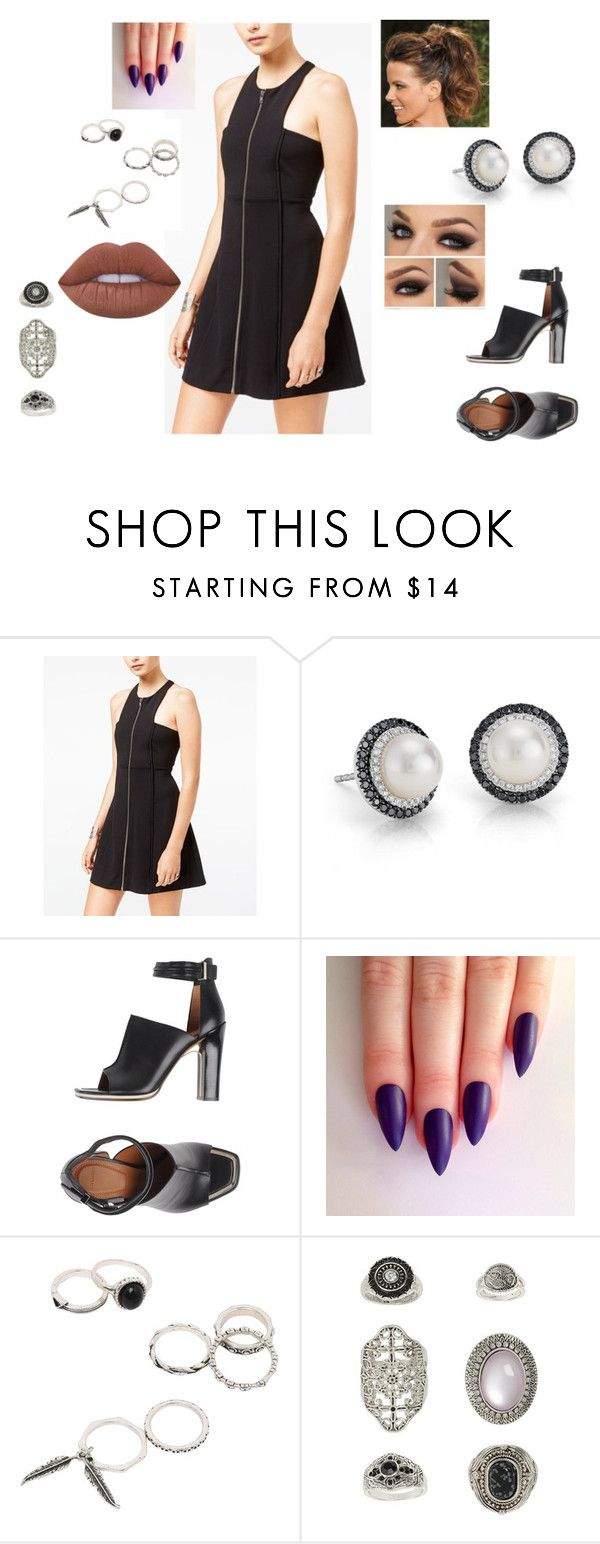 """""""Untitled #1757"""" by josh-hutchersonlover ❤ liked on Polyvore featuring Free People, Blue Nile, Givenchy, Topshop and Lime Crime"""