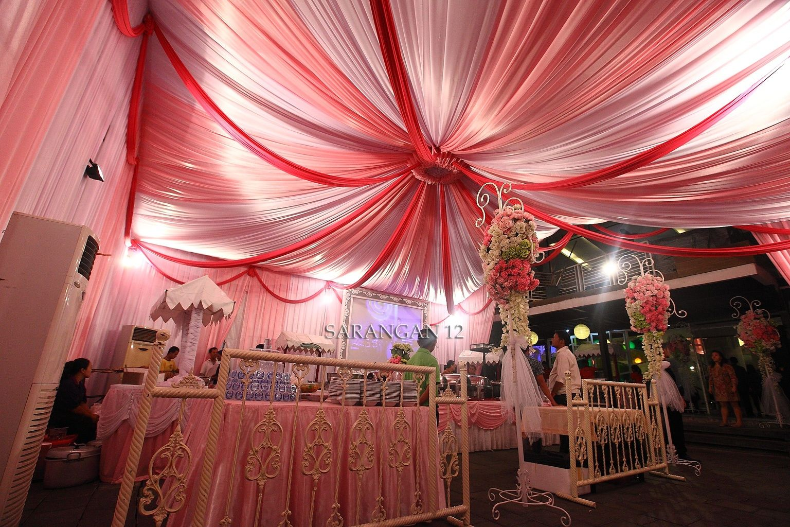Color theme pink green leaf resto ml malang decoration tent color themes color theme pink green leaf resto ml malang junglespirit Images