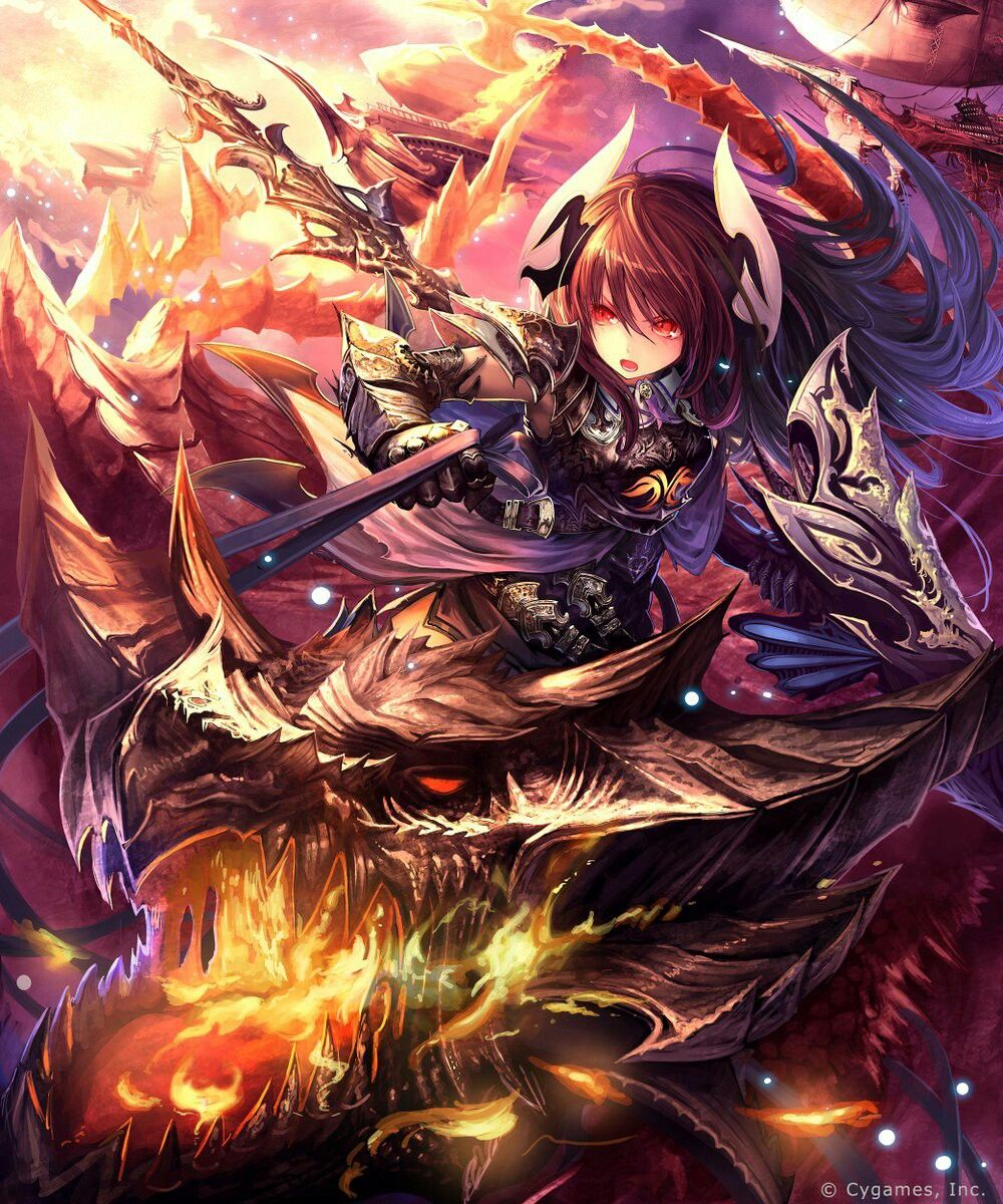 Card Name Dark Dragoon Forte Evolved Game Shadowverse Anime In
