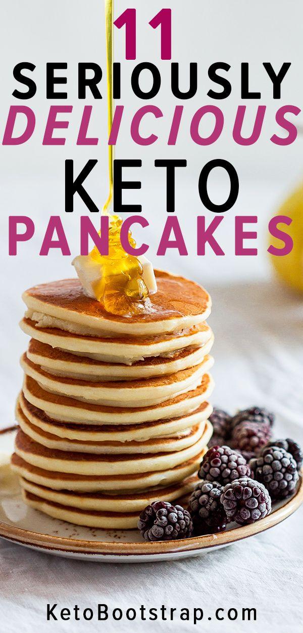 Keto Pancake Recipes: 11 Low Carb Pancake Recipes for You to Enjoy