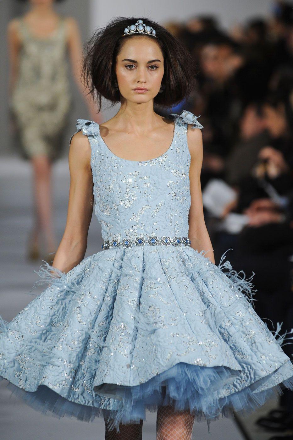 Oscar de la Renta at New York Fashion Week Fall 2012 | Oscar de la ...