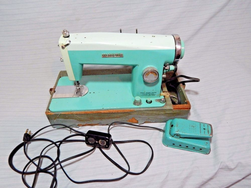 Vintage White Sewing Machine Model 40 Japan Cool Things On Ebay Enchanting Ebay White Sewing Machine