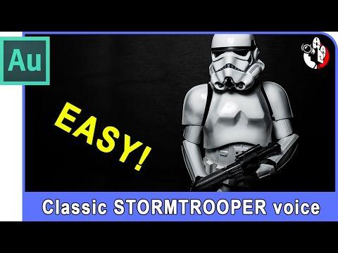 Adobe Audition Tutorial - Make a Star Wars Stormtrooper