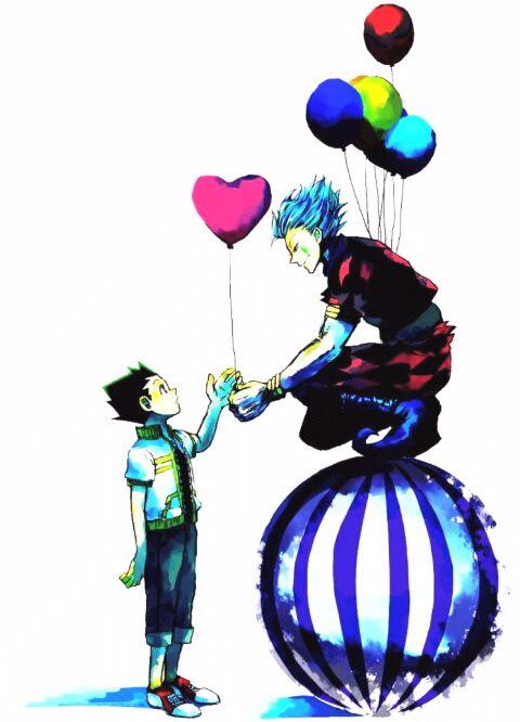 Hisoka and Gon