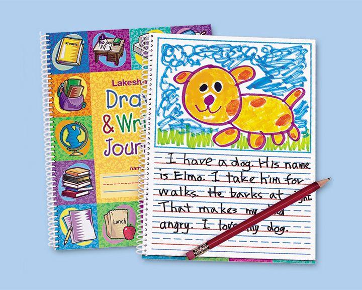 Draw Write Journal Lakeshore Learning Journal Writing Kindergarten Journals