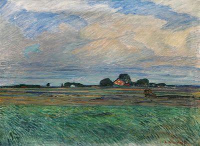 Gusten Widerbäck (1879-1970): Uppsalaslätten