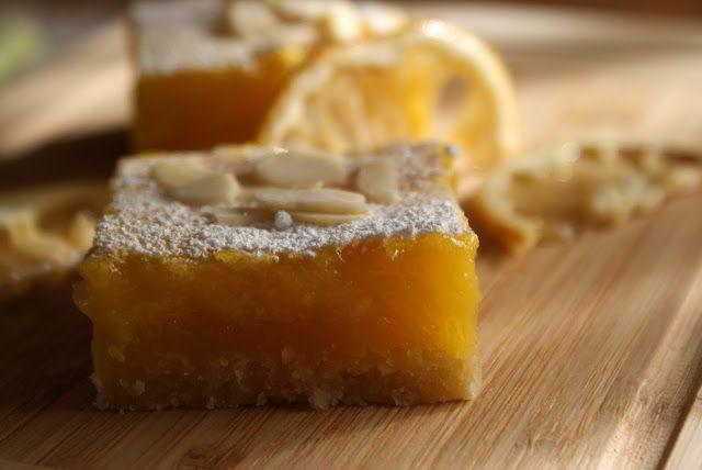 Intrusa na Cozinha: Quadrados de limão
