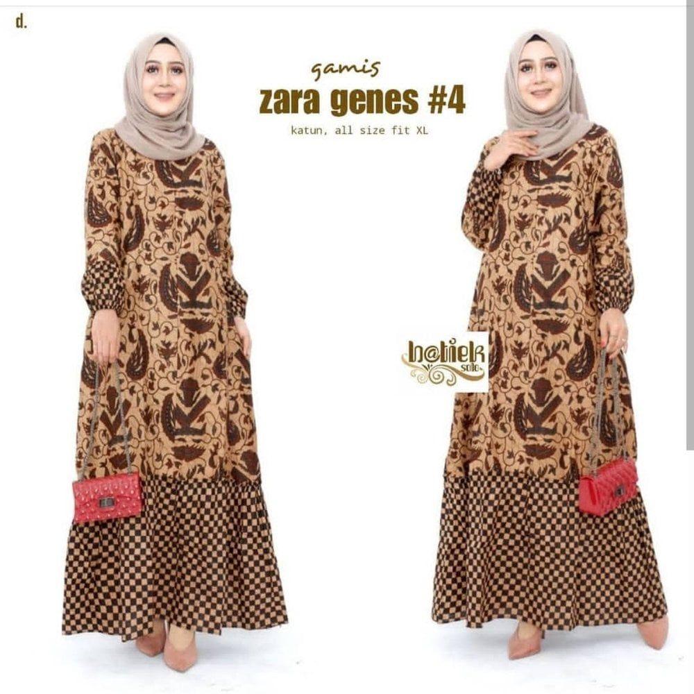 Model Gamis Batik Wanita Muslimah - Ananta Batik - vozeli.com