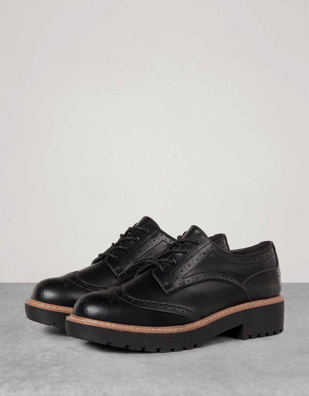 5e10434edc02f Zapato Vestir Picados - Ver Todo - Bershka Mexico