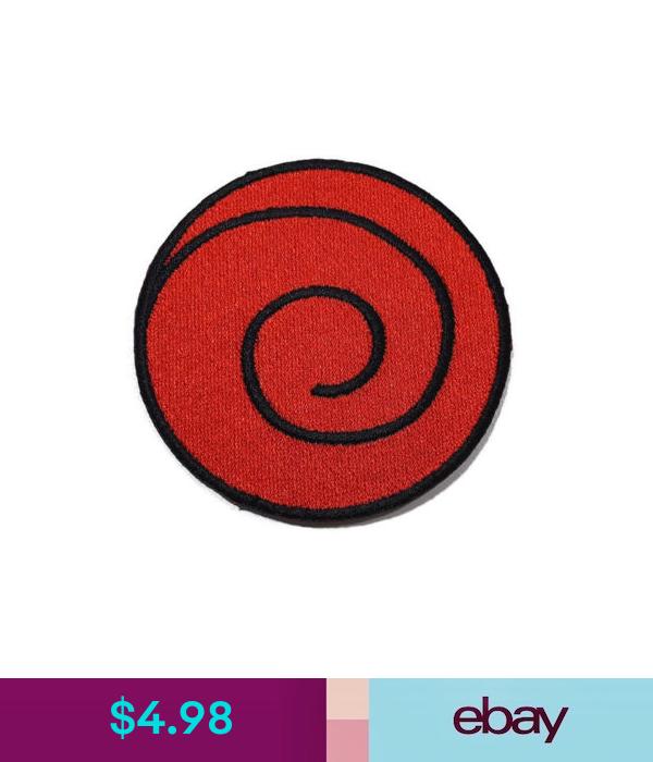 4 98 Naruto Usushio Clan Uzumaki Logo Embroidered Sew Iron On Patch Shirt Po603 Ebay Collectibles Logo Embroidered Patches Shirt Logos