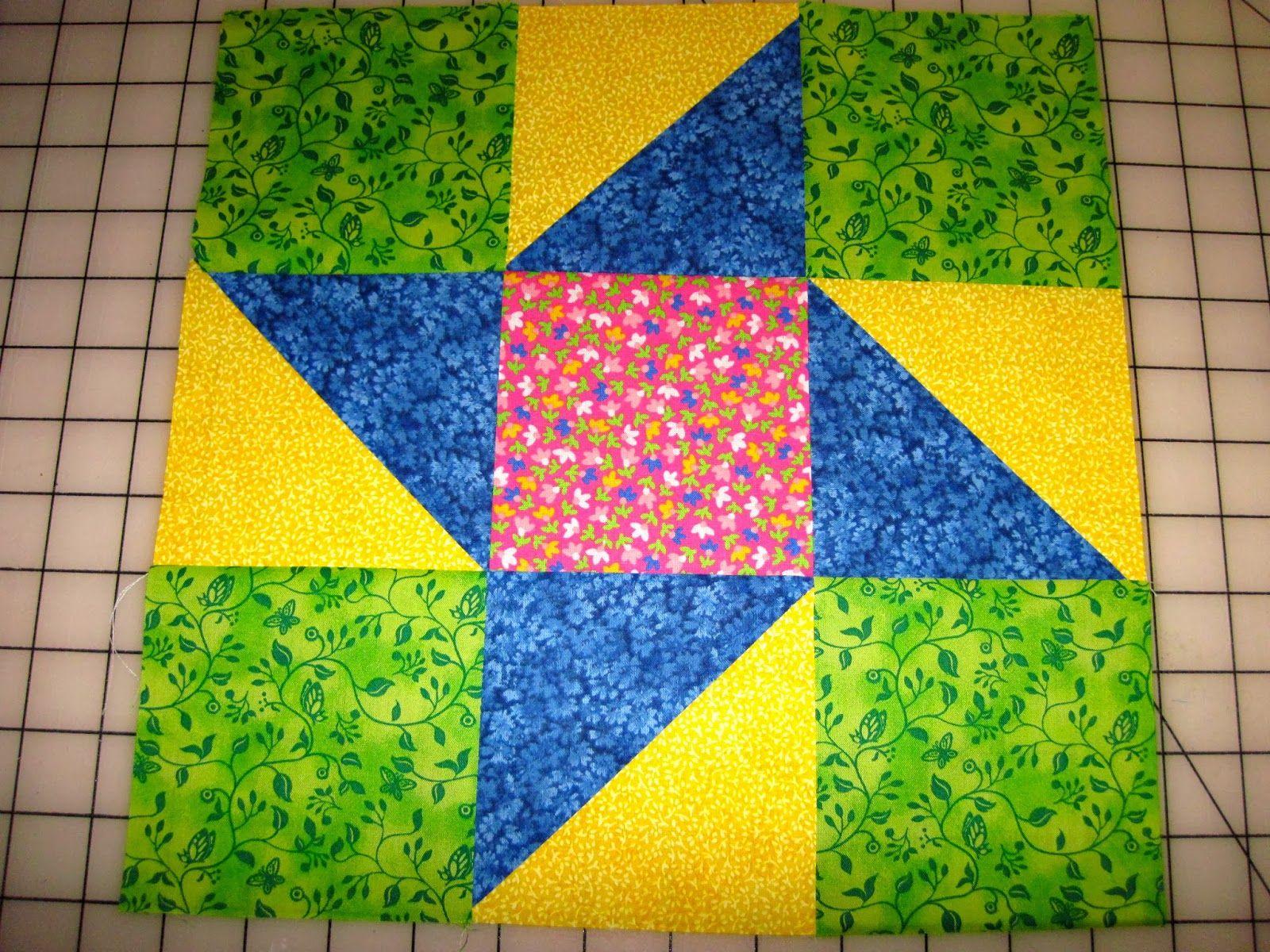 Annie S Mystery Quilt Block 1