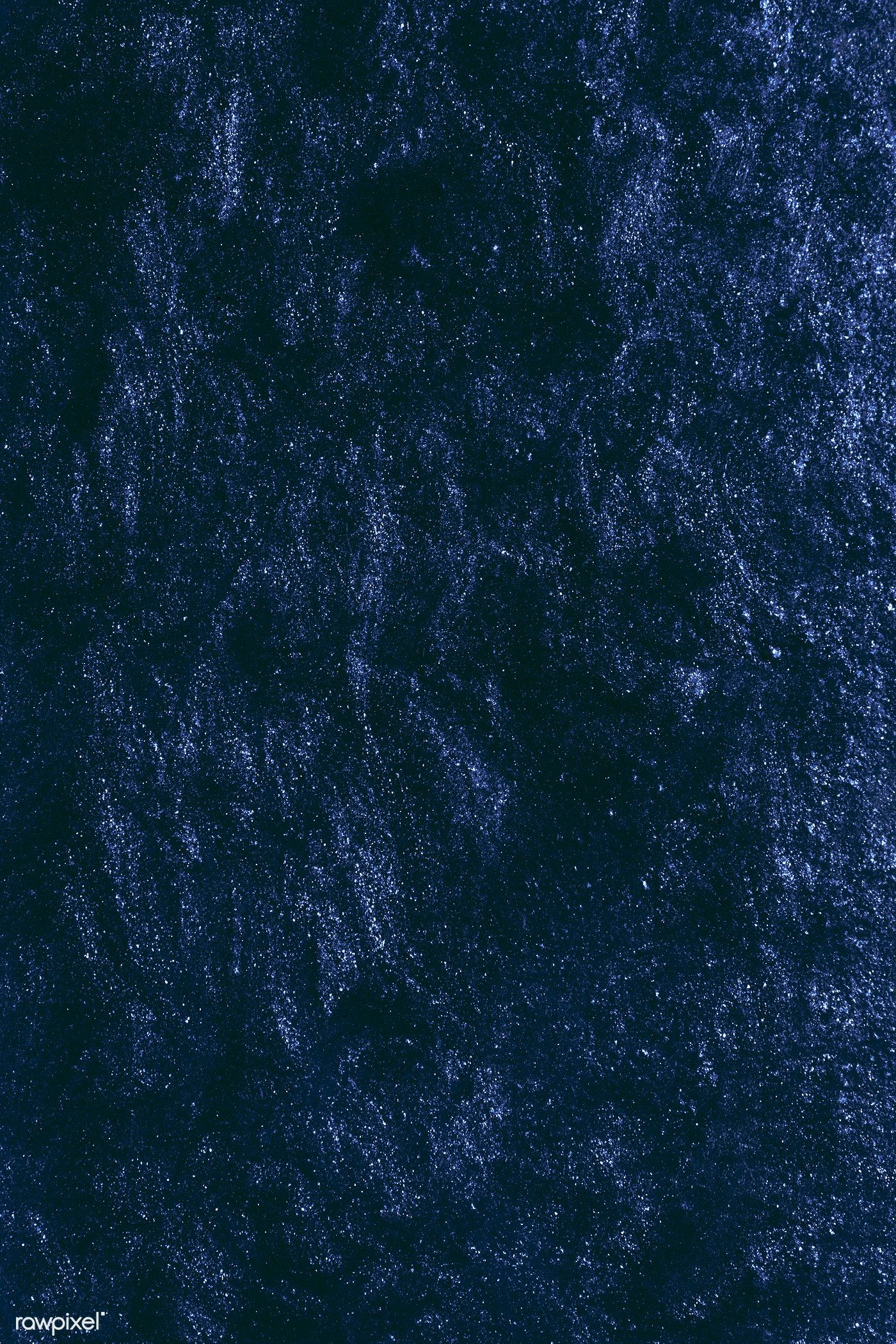 Midnight blue textured background free image by rawpixel