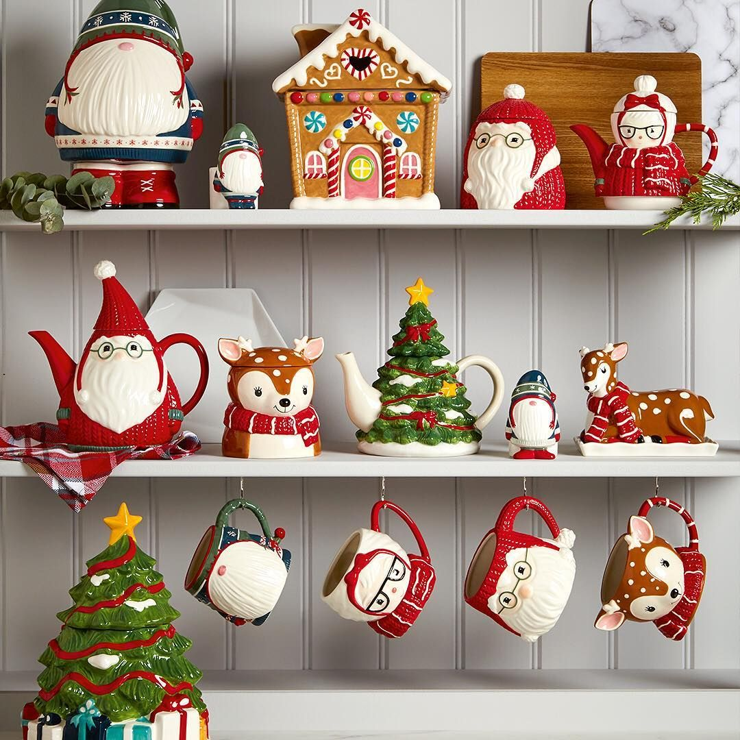 Asda On Instagram Let Your Christmas Tableware Do All The Talking With These Novelty Numbers From Egg Cup Christmas Tableware Egg Cups Christmas Ornaments