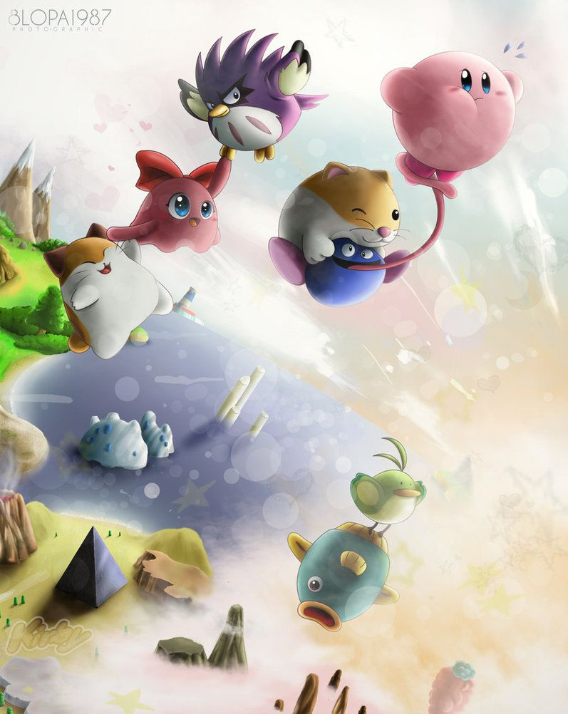 Kirby Dream Land 3 by Blopa1987