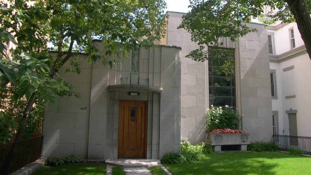 Érigée en 1930 et 1931, la maison Ernest-Cormier est l\'un des ...