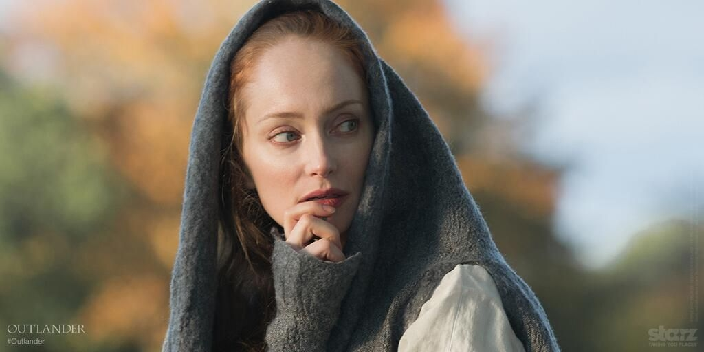 """Twitter / Outlander_Starz: """"They say I'm a witch."""" - Geillis Duncan"""
