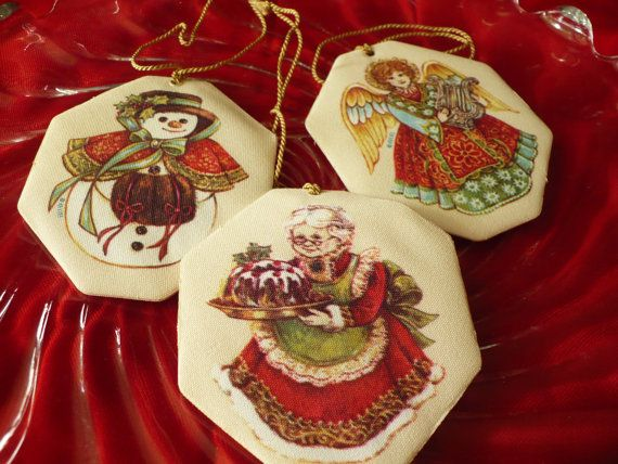 3 Vintage scented Avon Christmas ornaments | Christmas, Then & Now ...