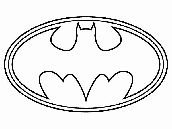 Batman Symbol Coloring Page Awesome Coloring Page Batman Logo