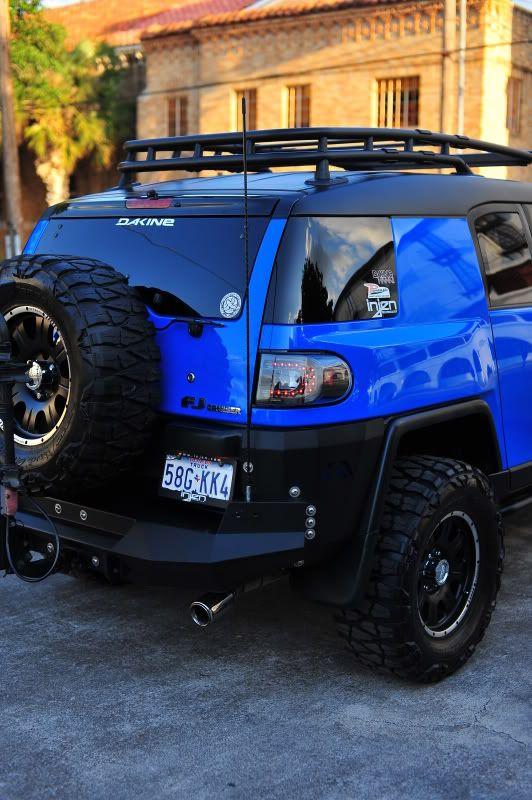 MY BOY BLUE REVAMPED...another $5,000 On It....  . Mods Do Cruzador FjFórum  Sobre Fj CruiserCaminhões ToyotaJeep Grand CherokeeHummerAutos