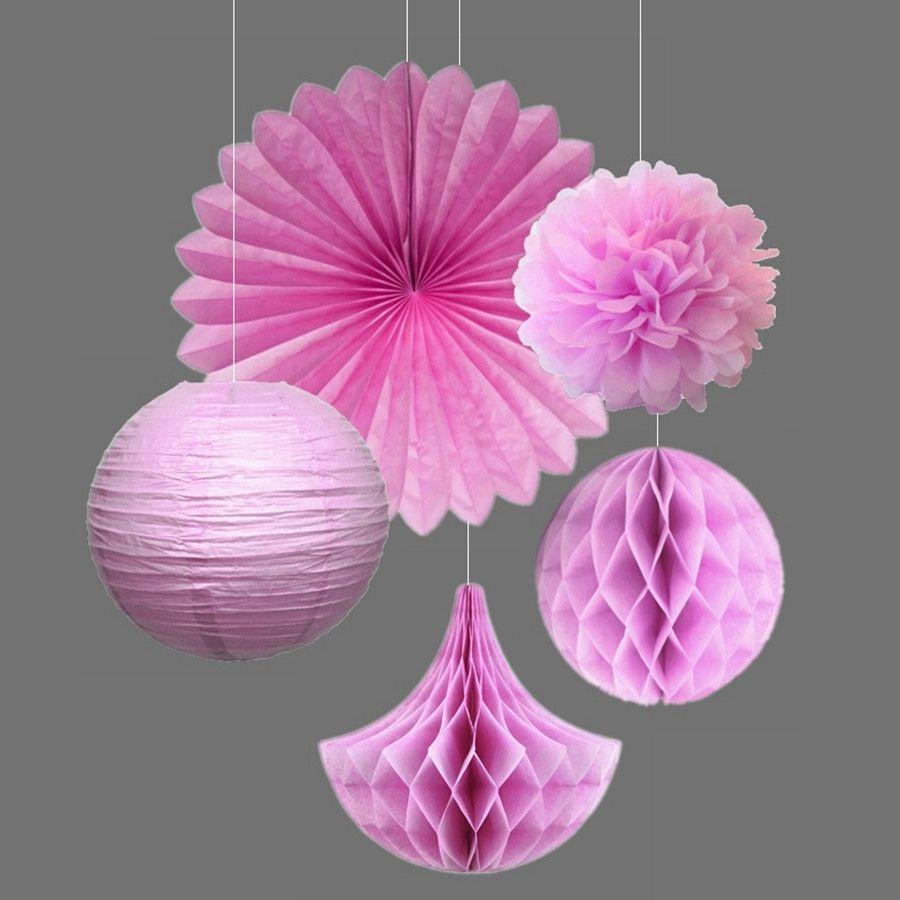 5pcs Mint Balls Fluffy Paper Flowers Wedding Decor | Tissue pom poms ...