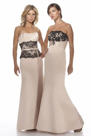 Dress on the right in Royal blue  Alexia Bridesmaid Collection - 2938