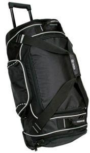 New Ogio Big Wheel Rolling Duffle Travel Gym Bag Case