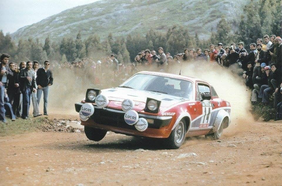 Per Eklund on board his Triumph TR7 | CARS, CARS, CARS! | Pinterest ...