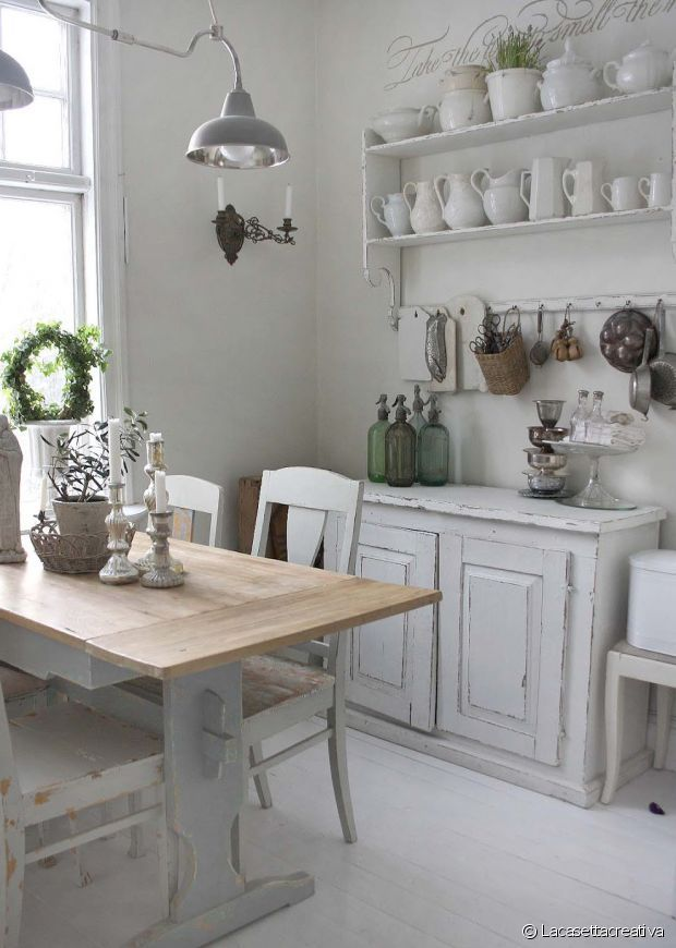 Déco Campagne Chic For The Love Of A Cottage Pinterest Shabby - Decoration interieur campagne chic