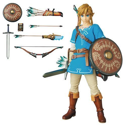 Legend of Zelda Breath of the Wild Link Real Action Hero Figure  sc 1 st  Pinterest : real link costume  - Germanpascual.Com